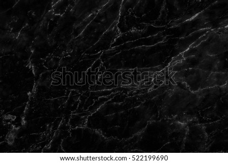 White Pattern Detailed Black Marble Texture Stockfoto Nu Bewerken