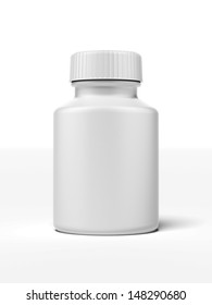 white pill bottle
