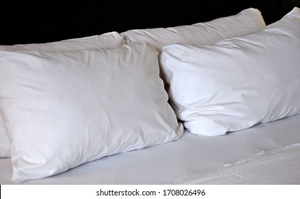 White pillows for home space
