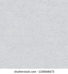 White Plaster Facade Wall Seamless Background