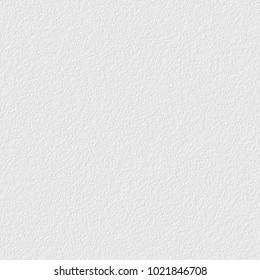 White plaster texture, seamless  background