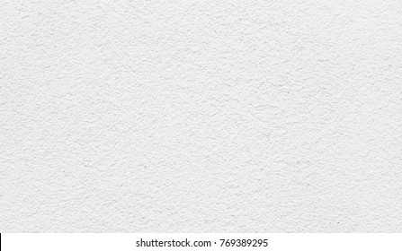 White plaster wall background, abstract pattern. High detailed fragment stone wall.