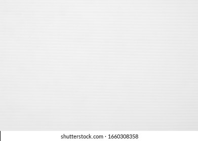 White plastic flute board texture background, Close up.
