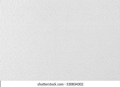 White plastic texture background