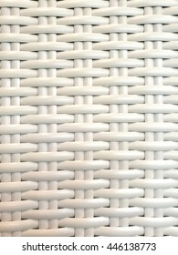 White Plastic Weave Pattern, Background