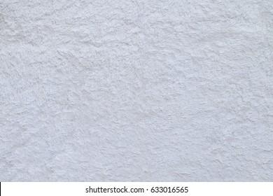 white plush background