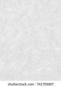 White polyethylene plastic warp texture.