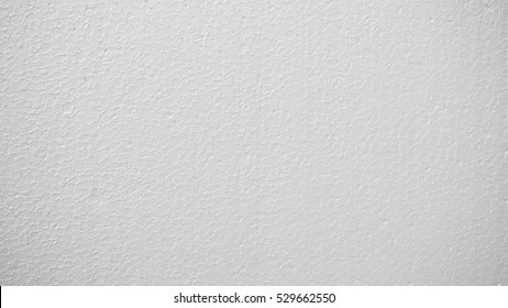 White polystyrene foam, Styrofoam texture background, Close up