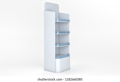White Product shelf