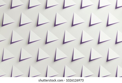 White and purple triangular two color textured background