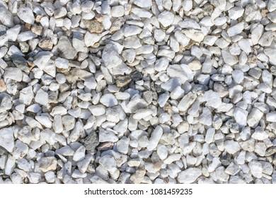 white quartz crushed stone