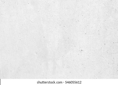 White Raw Concrete Wall Texture Background Suitable for Presentation and Web Templates with Space for Text.