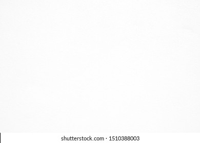 White Raw Cool Concrete Wall Texture Background.