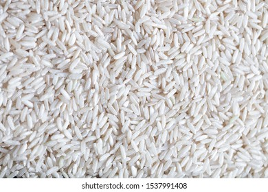 white rice background. Food concept