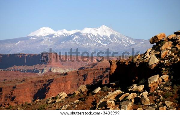 White Rim Canyon, Canyonlands, Utah, USA