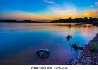 White river, UFA, Russia.