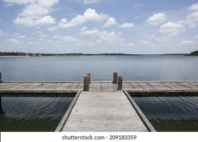 White Rock Lake in Dallas, TX. April 23, 2014