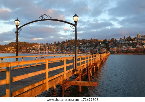 White Rock is a popular tourist destination on the west coast of British Columbia near the United States border.
