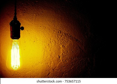 White room light  Close up Light bulbs
