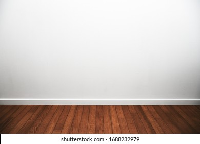White room. White room with wood flooring and white trims.