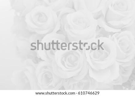 White rose fabric flowers decorative background stock photo edit white rose fabric flowers decorative background mightylinksfo