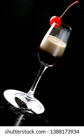 A White Russian is a cocktail made with vodka, coffee liqueur and cream served with ice in an Old Fashioned glass. Often milk or half and half will be used as an alternative to cream