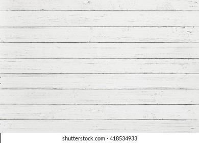 White rustic wood wall texture background, White pallet wood board