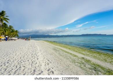 White sand beach, Boracay, Philippines