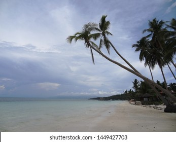 White sand beach in Carabao Island, Romblon, Philippines.