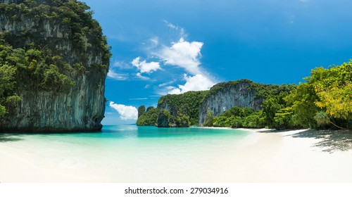 White sand beach at southern of Thailand