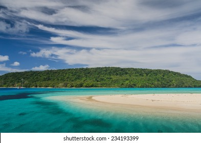 White sand beaches in Tonga