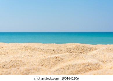 white sand and beautiful tropical beach