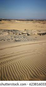 white sand dune desert