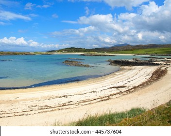 The White Sands of Morar - Turquoise Water and Coastline