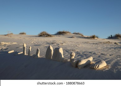 White Sands National Monument, historical and tourist legacies  New Mexico