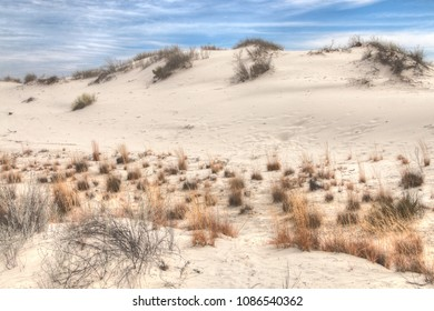 White Sands National Monument is Located in New Mexico and is One of the World's Gypsum Sand Collections