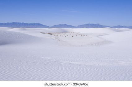 White Sands National Park in New Mexico USA