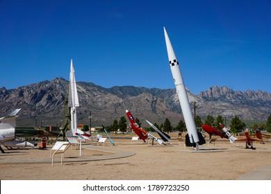 White Sands, NM / USA - July 3, 2016: White Sands Missile Range Museum