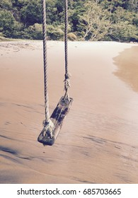 White sandy beach khao lak