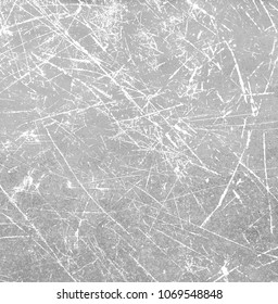 White scratched texture