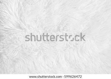 White Shaggy Blanket Texture Background Fluffy Stock Photo (Edit Now ... a86840c8a