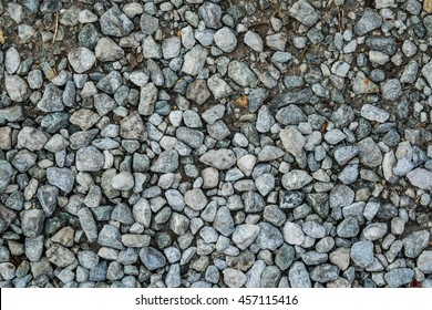 White sharp stones and rocks as used for building