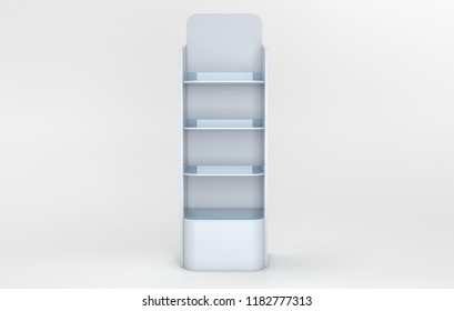 white shelf product