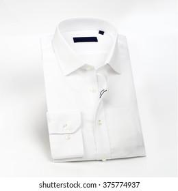 White shirt folded
