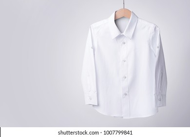 White shirt On white background