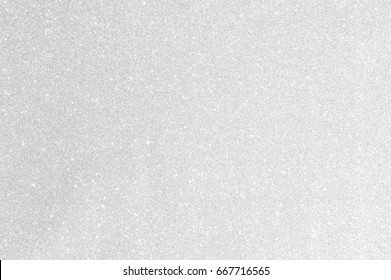 White silver glitter background