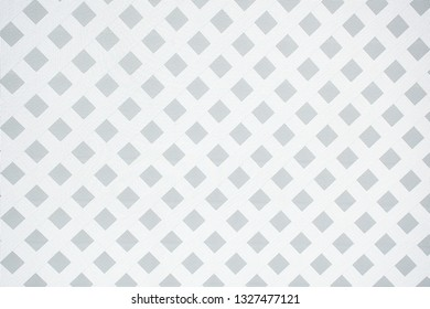 white and silver gray crisscross fence pattern background