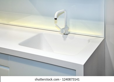 Display Stainless Steel Kitchen Sinks Samples Stock Photo Edit Now