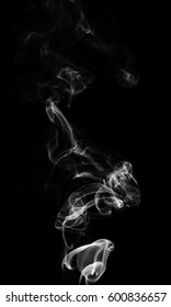 White smoke abstract background