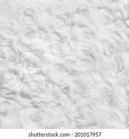 White Soft Cotton Wool Texture